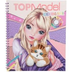 Album Top Model Gatto Colouring Book