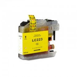 CARTUCCIA COMPATIBILE BROTHER LC-223 XL YELLOW 1K