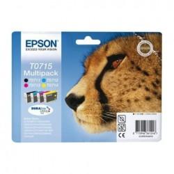 CARTUCCIA EPSON C13T07154010 T0715 MULTIPACK ORIGINALE