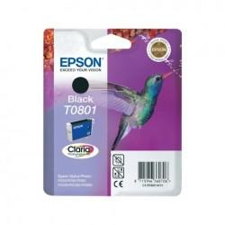 CARTUCCIA EPSON C13T08014010 T0801  BK NERO  ORIGINALE