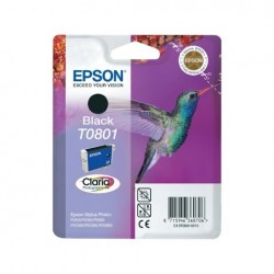 CARTUCCIA ORIGINALE EPSON C13T08014010 T0801 NERO
