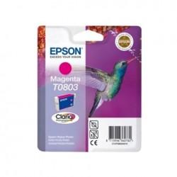 CARTUCCIA EPSON C13T08034010 T0803  MAGENTA ORIGINALE