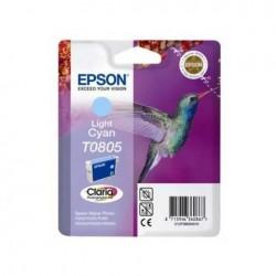 CARTUCCIA EPSON C13T08054010 T0805 LIGH CIANO ORIGINALE
