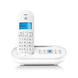 CORDLESS MOTOROLA DECT GAP T111 CON SEGRETERIA TELEFONICA BIANCO
