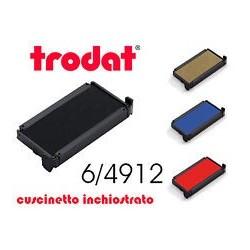 CUSCINETTO NERO DI RICAMBIO X TIMBRI 6/4912