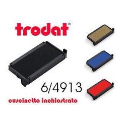 CUSCINETTO NERO DI RICAMBIO X TIMBRI 6/4913