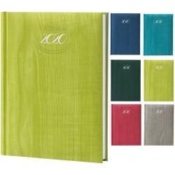 Agenda 2020 15X21 cm giornaliera tascabile Pastel e Classic Sab/Dom affiancati - 8 Colori assortiti F03002