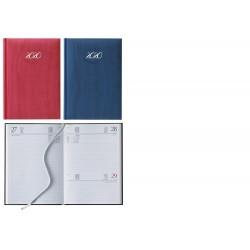 Agenda 2020 17X24 cm giornaliera Pastel Sab/Dom abbinati Blu o Rossa F03062