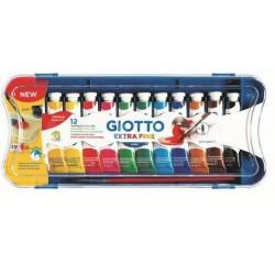 Giotto 12 tubetti 12ml tempera extrafine