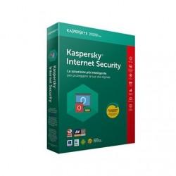 KASPERSKY INTERNET SECURITY 1 UTENTE 1 ANNO