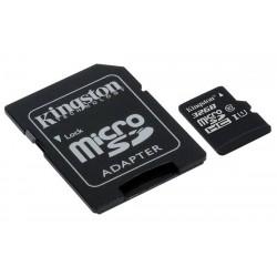MICRO SD 32GB KINGSTON CLASSE 10 CON ADATTATORE