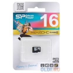 MICRO SD SILICON POWER 16GB CL10