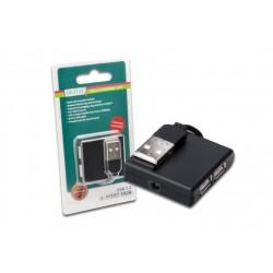 MINI HUB USB 4 PORTE 2.0 DA-70217