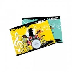ALBUM MUSICA 17X24 16 FOGLI