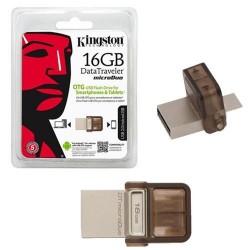 PEN DRIVE 16 GB KINGSTON OTG DT-MICRO DUO