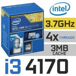 PROCESSORE CPU INTEL CORE I3 4170 LGA1150 3.7GHZ 3MB