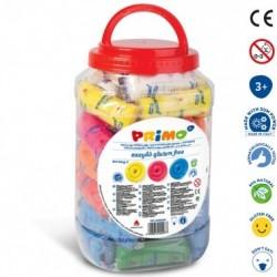 Barattolo Easydo' da 50 Panetti Colori Misti Senza Glutine Primo Morocolor