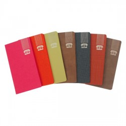 Rubrica telefonica 14x7 tascabile colori assortiti Nikoffice