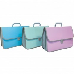 Valigetta a Soffietto 52X36X3,5 2 Chiusure Keep Colour Pastel ORNA