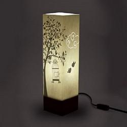 W-LAMP LAMPADA IN CARTONCINO-TAGLIO LASER CAGE BUILDING H32
