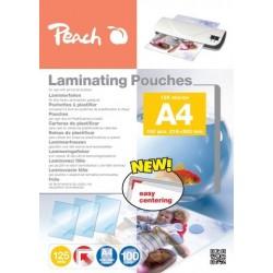 FOGLI X PLASTIFICARE A4 100 POUCHES PP525-02 125MIC