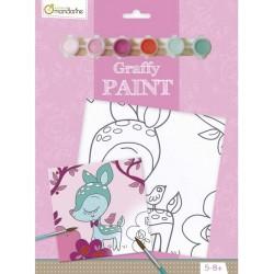 Kit Cartoncino Telato con Colori Graffy Vernice – Faon Avenue Mandarine